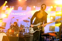 Autolux performing at the Pandora Discovery Den during SXSW 2016 at The Gatsby on March 19, 2016 in Austin, Texas. (Photo: Rachel Murray/Getty)
