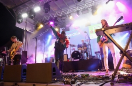 Bloc Party performing at the Pandora Discovery Den during SXSW 2016 at The Gatsby on March 19, 2016 in Austin, Texas. (Photo: Rachel Murray/Getty)