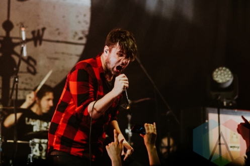 Silverstein performing at the Imperial in Vancouver on March 8, 2016. (Photo: Timothy Nguyen/Aesthetic Magazine)