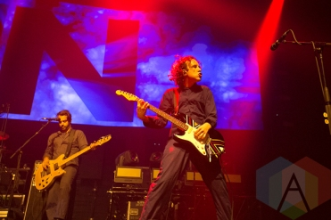 Awolnation performing at the Bill Graham Civic Auditorium in San Francisco on March 27, 2016. (Photo: Raymond Ahner/Aesthetic Magazine)