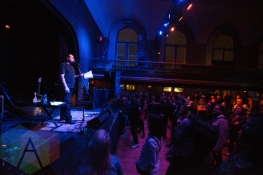 Derrick Brown performing at The Great Hall in Toronto on March 15, 2016. (Photo: Josh Ladouceur/Aesthetic Magazine)