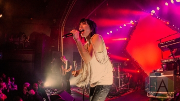 Carly Rae Jepsen performing at St. Andrews Hall in Detroit, Michigan on March 13, 2016. (Photo: Taylor Ohryn/Aesthetic Magazine)