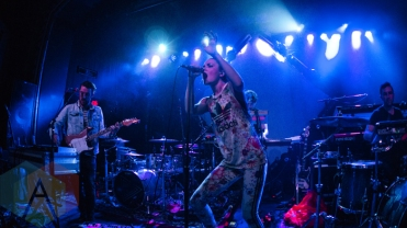 Cardiknox performing at St. Andrews Hall in Detroit, Michigan on March 13, 2016. (Photo: Taylor Ohryn/Aesthetic Magazine)