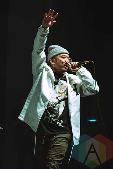 Pryde performing at The Danforth Music Hall in Toronto on March 3, 2016. (Photo: Francesca Ludikar/Aesthetic Magazine)