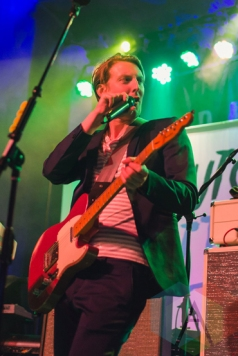 Eric Hutchinson performing at St. Andrews Hall in Detroit on March 18, 2016. (Photo: Jennifer Boris/Aesthetic Magazine)