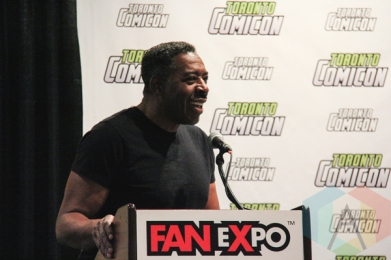 Ernie Hudson (Ghostbusters) at Toronto ComiCon 2016 at the Metro Toronto Convention Centre on March 20, 2016. (Photo: Theresa Shim/Aesthetic Magazine)