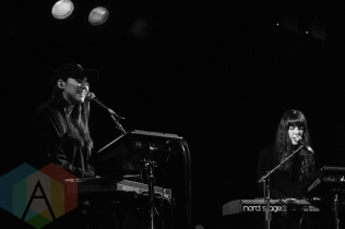 Milk and Bone performing at Lee's Palace in Toronto on March 5, 2016. (Photo: Shahnoor Ijaz/Aesthetic Magazine)