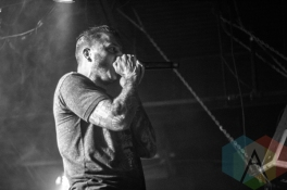 Atreyu performing at The Scout Bar in Houston, Texas on March 11, 2016. (Photo: Madelynn Vickers/Aesthetic Magazine)