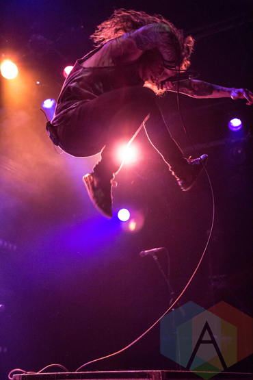 Miss May I performing at Warehouse Live in Houston, Texas on March 18, 2016. (Photo: Madelynn Vickers/Aesthetic Magazine)