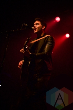 Tyler Shaw performing at The Phoenix Concert Theatre in Toronto on March 4, 2016. (Photo: Stephan Ordonez/Aesthetic Magazine)