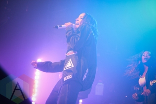 Tinashe performing at The Phoenix Concert Theatre in Toronto on March 4, 2016. (Photo: Stephan Ordonez/Aesthetic Magazine)