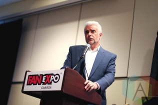 John O'Hurley (Seinfeld) at Toronto ComiCon 2016 at the Metro Toronto Convention Centre in Toronto on March 18, 2016. (Photo: Theresa Shim/Aesthetic Magazine)