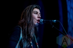 Julia Holter performing at The Great Hall in Toronto on March 4, 2016. (Photo: Orest Dorosh/Aesthetic Magazine)