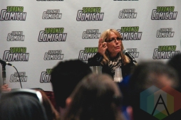 Karen Allen (Indiana Jones) at Toronto ComiCon 2016 at the Metro Toronto Convention Centre on March 20, 2016. (Photo: Theresa Shim/Aesthetic Magazine)