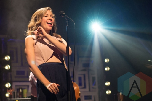 Lake Street Dive performing at The Danforth Music Hall in Toronto on March 15, 2016. (Photo: Morgan Hotston/Aesthetic Magazine)