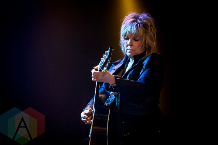 Lucinda Williams performing at The Opera House in Toronto on March 24, 2016. (Photo: Angelo Marchini/Aesthetic Magazine)
