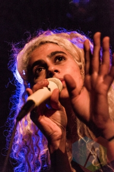 Madame Gandhi performing at the Bowery Ballroom in New York City on March 27, 2016. (Photo: Saidy Lopez/Aesthetic Magazine)