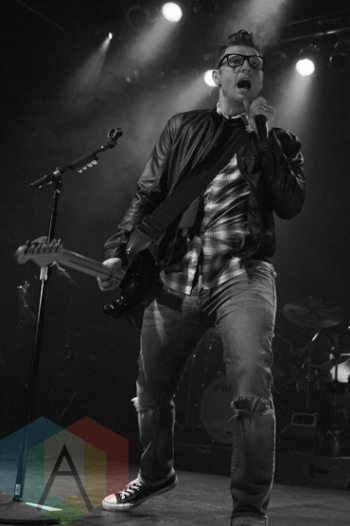 Nick Carter performing at The Phoenix Concert Theatre in Toronto on March 17, 2016. (Photo: Theo Rallis/Aesthetic Magazine)