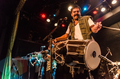 Red Baraat performing at the Bowery Ballroom in New York City on March 27, 2016. (Photo: Saidy Lopez/Aesthetic Magazine)