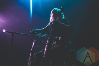 Shannon Hayden performing at Lincoln Hall in Chicago on March 12, 2016. (Photo: Kris Cortes/Aesthetic Magazine)