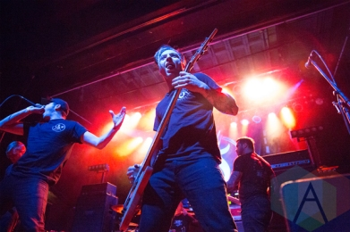 Sirens and Sailors performing at The Phoenix Concert Theatre in Toronto on March 3, 2016. (Photo: Jon Wishart/Aesthetic Magazine)