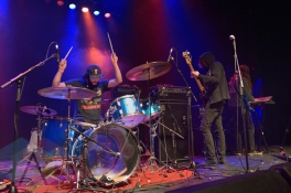CFM performing at The Danforth Music Hall in Toronto on March 4, 2016. (Photo: Steve Danyleyko/Aesthetic Magazine)