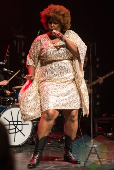 The Suffers performing at The Danforth Music Hall in Toronto on March 15, 2016. (Photo: Morgan Hotston/Aesthetic Magazine)