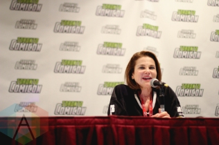 Tovah Feldshuh (The Walking Dead) at Toronto ComiCon 2016 at the Metro Toronto Convention Centre in Toronto on March 18, 2016. (Photo: Theresa Shim/Aesthetic Magazine)