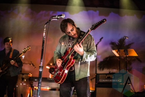 Dan Auerbach of The Arcs performing at the Commodore Ballroom in Vancouver on April 11, 2016. (Photo: Amy Ray/Aesthetic Magazine)