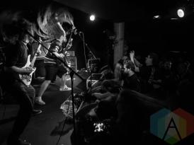 Skreamer performing at The Underworld in London, UK on April 9, 2016. (Photo: Rossi Ivanova/Aesthetic Magazine)