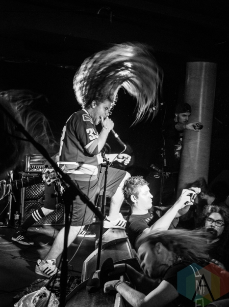 Skreamer performing at The Underworld in London, UK on April 9, 2016. (Photo: Rossi Ivanova/Aesthetic Magazine)
