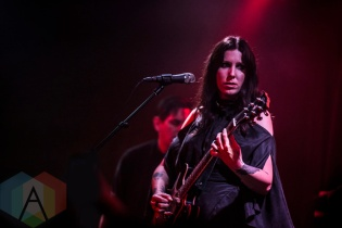 Chelsea Wolfe performing at The Crescent Ballroom in Phoenix, Arizona on April 25, 2016. (Photo: Tony Contini/Aesthetic Magazine)