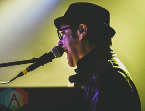 Alan Frew performing at The Great Hall in Toronto on April 29, 2016. (Photo: David Scala/Aesthetic Magazine)