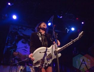 Beach Slang performing at the Music Hall of Williamsburg in New York City on April 20, 2016. (Photo: Gina Garcia/Aesthetic Magazine)