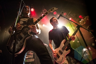 Comeback Kid performing at The Mod Club in Toronto on April 10, 2016. (Photo: Kelsey Giesbrecht/Aesthetic Magazine)