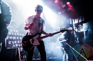 Culture Abuse performing at The Mod Club in Toronto on April 10, 2016. (Photo: Kelsey Giesbrecht/Aesthetic Magazine)