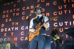 Death Cab for Cutie performing at the Doug Mitchell Thunderbird Sports Centre in Vancouver on April 1, 2016. (Photo: Carmin Edwards/Aesthetic Magazine)