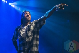 Hopsin performing at The Danforth Music Hall in Toronto on April 29, 2016. (Photo: Anthony D'Elia/Aesthetic Magazine)