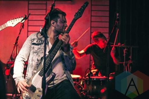 Smashing Satellites performing at Adelaide Hall in Toronto on April 8, 2016. (Photo: Francesca Ludikar/Aesthetic Magazine)