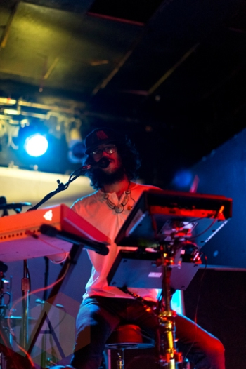 Eureka The Butcher performing at Lee's Palace in Toronto on April 7. (Photo: Joshua Qubti-Andrews/Aesthetic Magazine)
