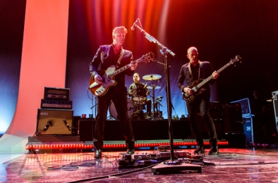 Josh Homme performing with Iggy Pop at The Capitol Theatre in Port Chester, New York on April 14, 2016. (Photo: Saidy Lopez/Aesthetic Magazine)