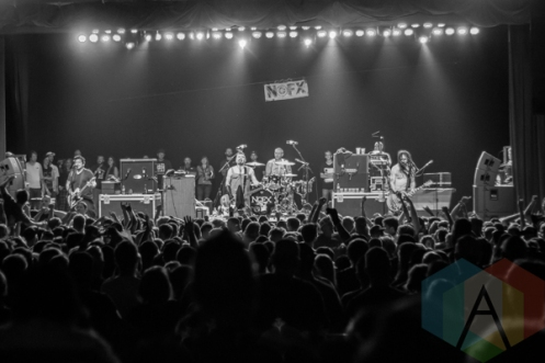 NOFX performing at The Marquee Theatre in Tempe, Arizona on April 17, 2016. (Photo: Meghan Lee/Aesthetic Magazine)