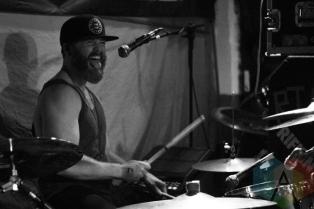 Black Collar Union performing at the Bovine Sex Club in Toronto on April 29, 2016. (Photo: John-Michael Lelievre/Aesthetic Magazine)