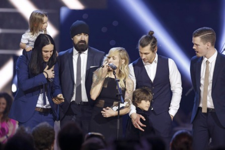 Walk off The Earth at the 2016 JUNO Awards at Scotiabank Saddledome in Calgary on April 3, 2016. (Photo: CARAS)
