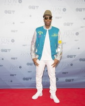 Kardinal Offishall on the red carpet at the 2016 JUNO Awards at Scotiabank Saddledome in Calgary on April 3, 2016. (Photo: CARAS)