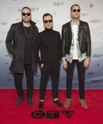 Young Empires on the red carpet at the 2016 JUNO Awards at Scotiabank Saddledome in Calgary on April 3, 2016. (Photo: CARAS)