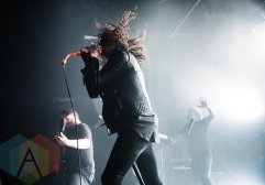 Underoath performing at The Phoenix Concert Theatre in Toronto on April 19, 2016. (Photo: Kelsey Giesbrecht/Aesthetic Magazine)