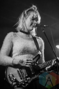 Bleached performing at the Biltmore Cabaret in Vancouver on April 28, 2016. (Photo: Emily Chin/Aesthetic Magazine)