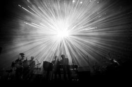 LCD Soundsystem performing at the Coachella Music Festival on April 22, 2016. (Photo: Erik Voake/Goldenvoice)