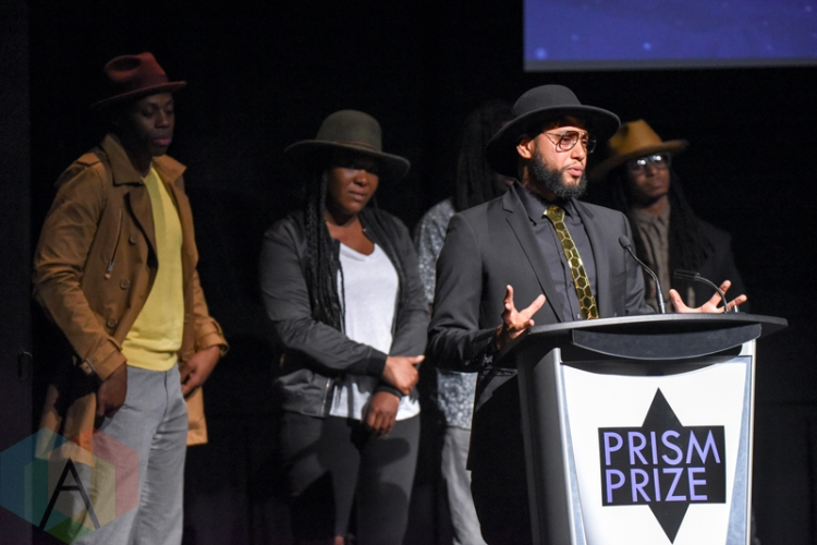 Director X, Recipient of the Special Achievement award during the 2016 Prism Prize gala at the TIFF Lightbox in Toronto on May 15, 2016. (Photo: Jamie Espinoza/Aesthetic Magazine)